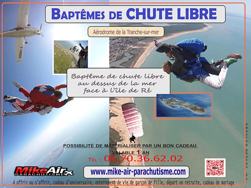 offre promo cadeau saut en parachute.